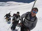 Ski de randonée à Chamonix : Flégère-Crochues-Bérard-Vallorcine