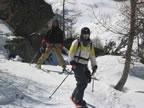 Ski de randonnée à Chamonix - traversée Crochues - Bérard