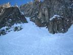 Ski alpinisme traversée de la brèche Puiseux