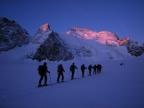 Raid à skis dans les Ecrins