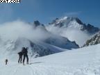 4 jours à skis de rando Chamonix-Argentière-Trient