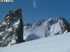 Raid à ski Argentière Trient