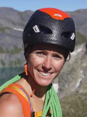 Sophie Moritz - Guide de haute montagne Alta-Via